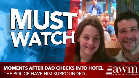 Moments After Dad Checks Into Hotel With His Daughter, He Finds Cops Surrounding Him