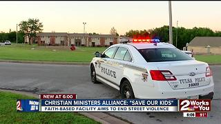 Faith-based facility aims to end street violence - Video