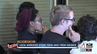 Workshop teaches teens important life skills - Video
