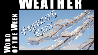 What is freezing rain? - Video