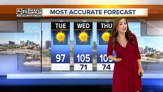 Last day in the 90s in Phoenix for awhile - Video
