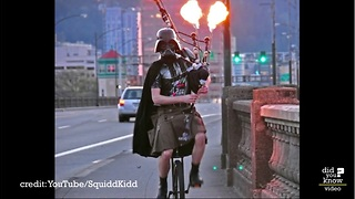 The Unipiper is the coolest person you've never heard of - Video