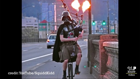 The Unipiper is the coolest person you've never heard of