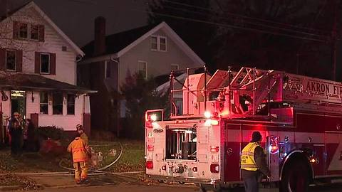Four dead in Akron house fire
