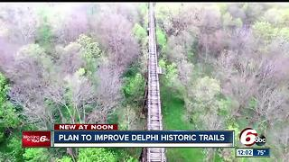 Plan to improve Delphi historic trails - Video