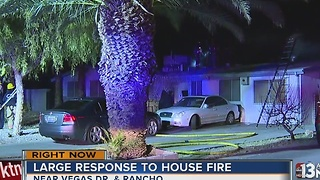 Firefighters investigating valley house fire - Video