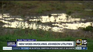 Sewage spill amid Johnson Utilities investigation - Video
