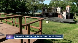 Thefts at Shakespeare in the Park - Video