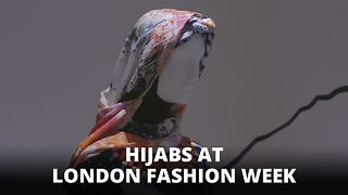 Hijab high fashion: Muslim style at London Fashion Week - Video