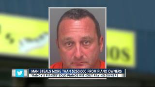 Police: Largo piano dealer steals $253K from clients - Video