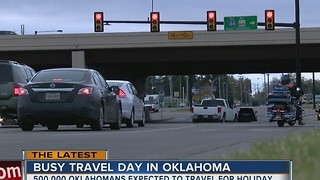 Oklahomans are expected to travel to celebrate Thanksgiving - Video