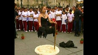 Peru Woman Levitates - Video