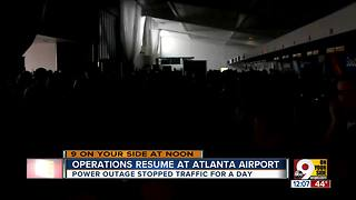 Atlanta's Hartsfield-Jackson airport restores power after crippling outage - Video