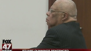 UPDATE - Former Ingham County Prosecutor Stuart Dunnings sentenced to probation, one year in jail - Video