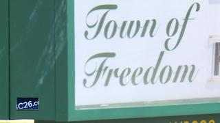 Freedom police warning residents - Video