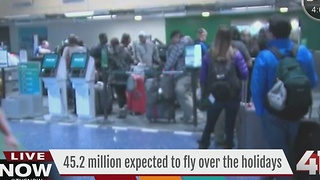 42.5 million expected to fly over the holidays - Video