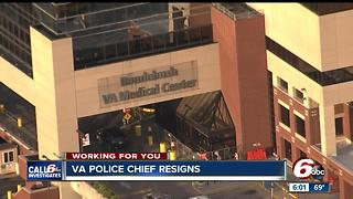 VA police chief resigns - Video