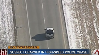 Suspect charged in high-speed police chase - Video