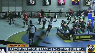 Skating community trying to raise money for loyal fan - Video