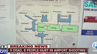 Fort Lauderdale Hollywood International Airport map explained - Video