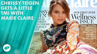 Chrissy Teigen talks twerking, kids and her butthole! - Video