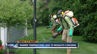 Warmer temperatures brings mosquito concerns - Video
