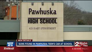 Pawhuska teen allegedly brings guns to school - Video