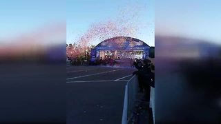 Tucson man wins Disney marathon, first American since 2004 - Video