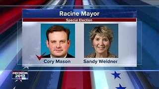 Cory Mason declares himself winner in race for Racine's mayor - Video