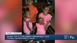 Aunt of 5 children killed in Muskogee speaks out