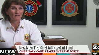 There's a new fire chief in Mesa - Video