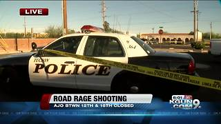 Police investigating shooting near Ajo and 14th - Video