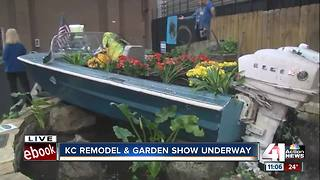 DIY and design reign at KC Remodel + Garden Show - Video