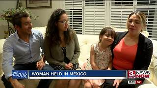 Woman held in Mexico for over a year for immigration pardon returns to Omaha - Video