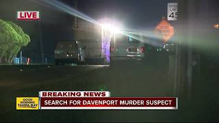 BOLO: Deputies search for murder suspect in Davenport - Video