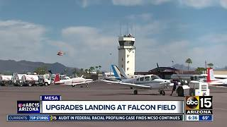Upgrades landing at Falcon Field - Video