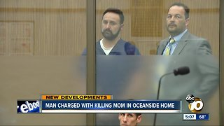No bail for man accused of killing his mother in Oceanside