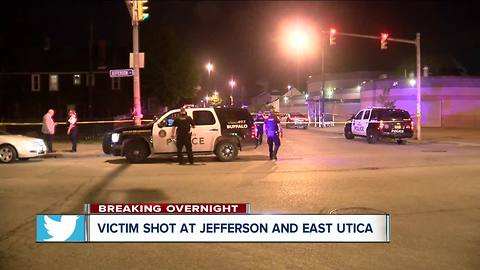 One person seriously hurt in overnight shooting