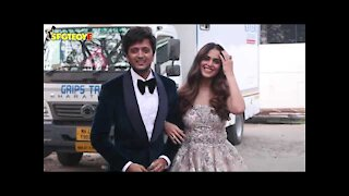 Riteish Deshmukh and Genelia D'souza look amazing as they are spotted for a shoot | SpotboyE