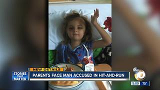 Parents face man accused in San Ysidro hit-and-run - Video