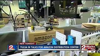 Tulsa trying for next Amazon fulfillment center - Video