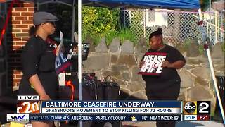 Organizers hold Ceasefire rally - Video