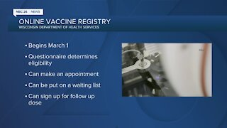 Wisconsin health officials launch vaccine registry