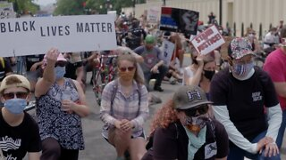 Thousands Of People Protest In Washington, D.C. Saturday