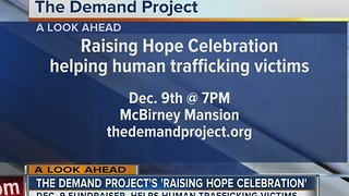 The Demand Project helping to raise money to support human trafficking victims - Video