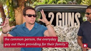 Mark Wahlberg offered a different view on Trump | Rare Entertainment - Video