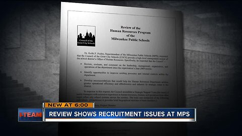 Review shows recruitment issues at Milwaukee Public Schools