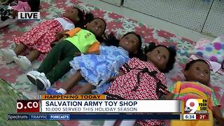 Salvation Army Toy Shop makes sure low-income kids have a great Christmas - Video