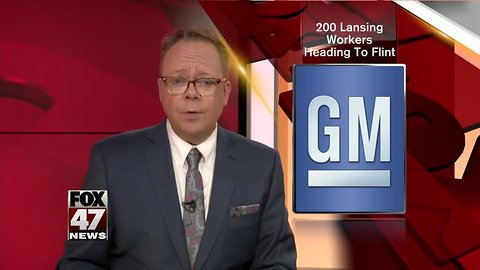 Lansing GM workers getting transferred to Flint