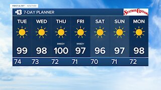 13 First Alert Las Vegas evening forecast | Sept. 20, 2020